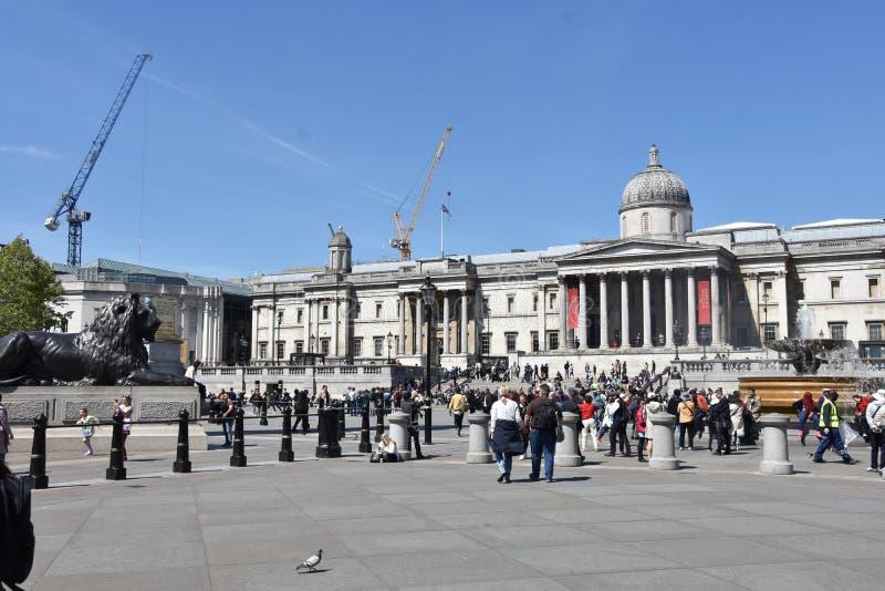 Национальная галерея, Лондон - Великобритания стоковые изображения rf