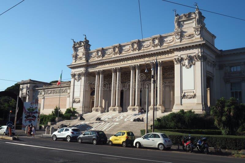 Национальная галерея современного искусства в Риме, Италии стоковое фото rf