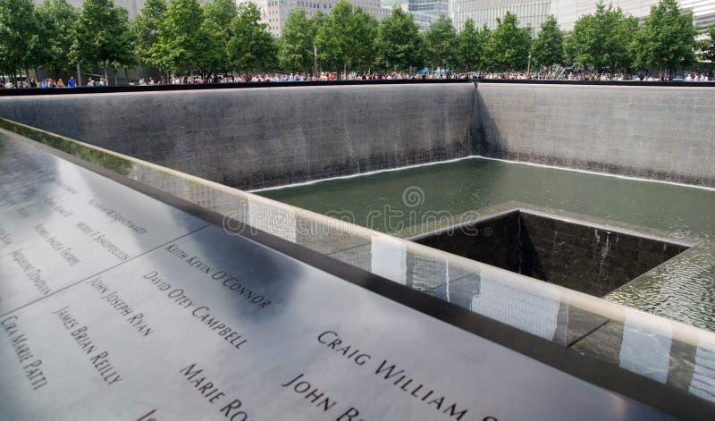 Национальные мемориал и музей 11-ое сентября стоковая фотография