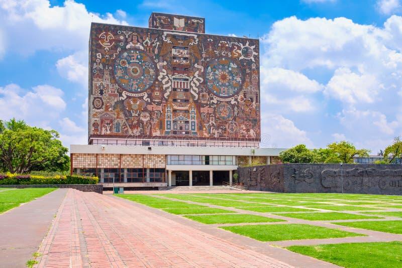 Национальный автономный университет Мексики стоковое изображение