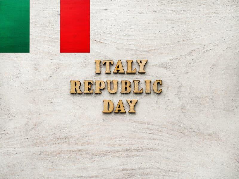 Национальный день Италии Festa della Repubblica Italiana стоковая фотография rf
