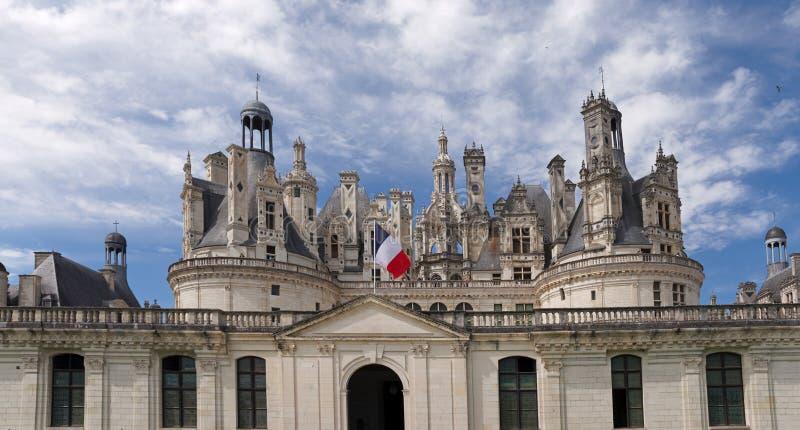 Национальный домен Chambord стоковая фотография rf