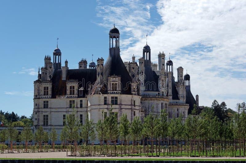 Национальный домен Chambord стоковое фото
