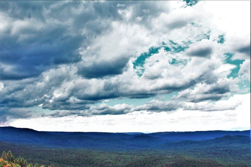 Национальный лес Tonto, министерство сельского хозяйства Аризоны, Соединенных Штатов стоковое изображение rf