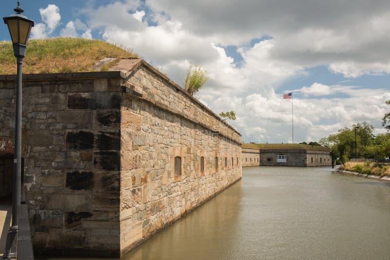 Национальный монумент Монро форта стоковое изображение rf