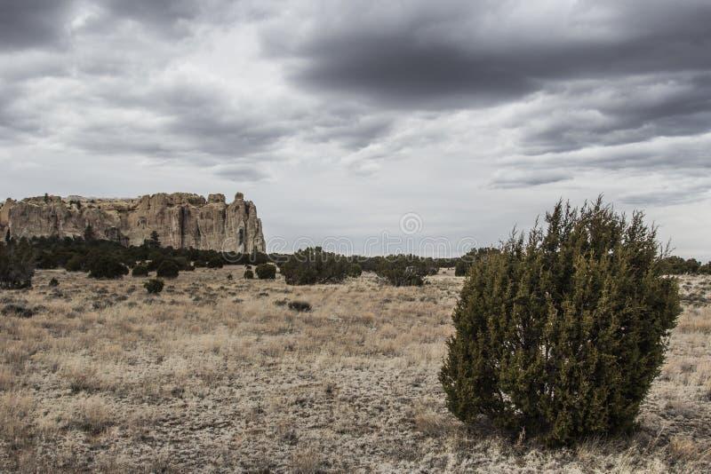 Национальный монумент El Morro в Неш-Мексико стоковые изображения rf