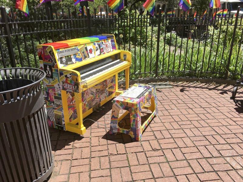 Национальный монумент Stonewall, Нью-Йорк -5 стоковые фото
