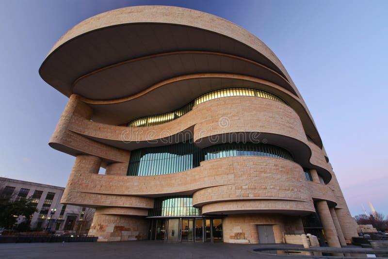 Национальный музей американское индийское Вашингтон стоковое изображение