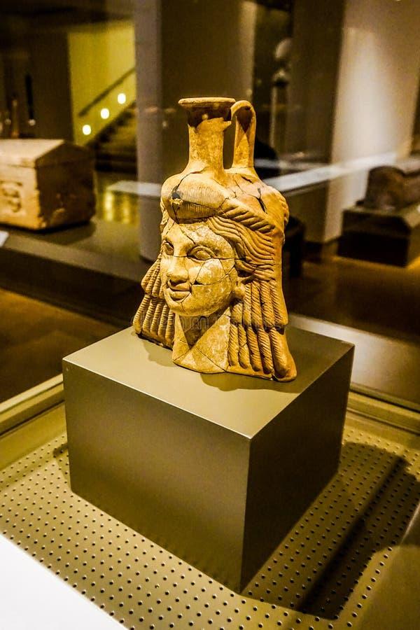 Национальный музей 25 Бейрута стоковое изображение