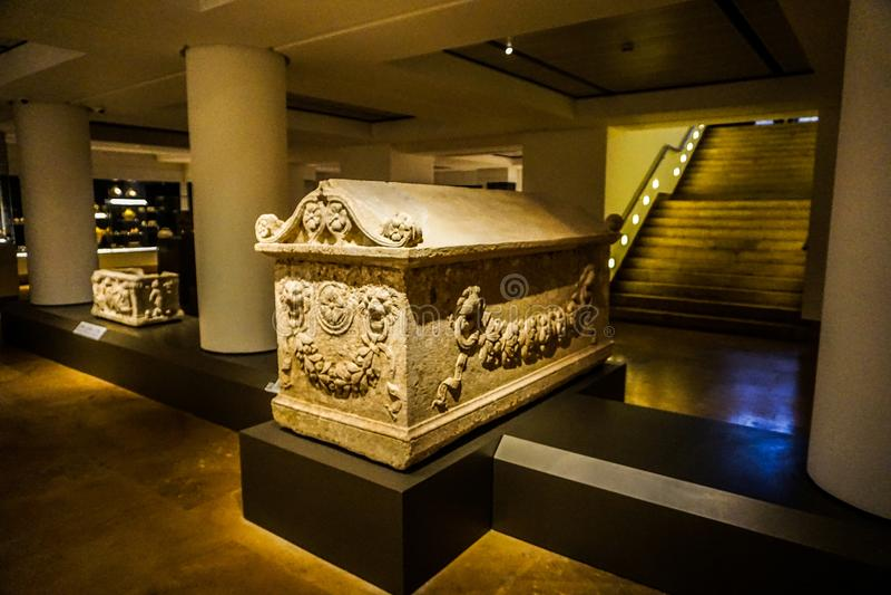 Национальный музей 26 Бейрута стоковые фотографии rf