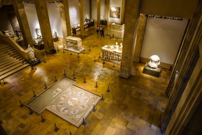 Национальный музей 30 Бейрута стоковая фотография rf