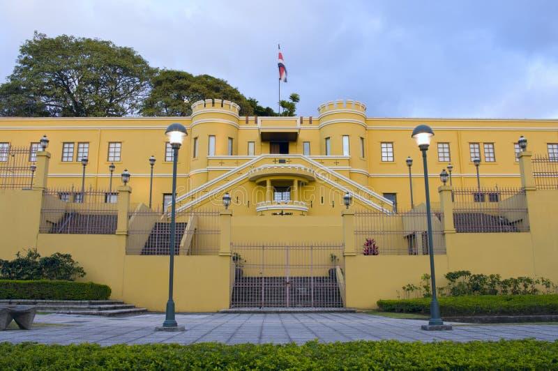 Национальный музей в Сан-Хосе стоковая фотография