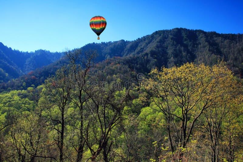 национальный парк горы закоптелый стоковое изображение rf