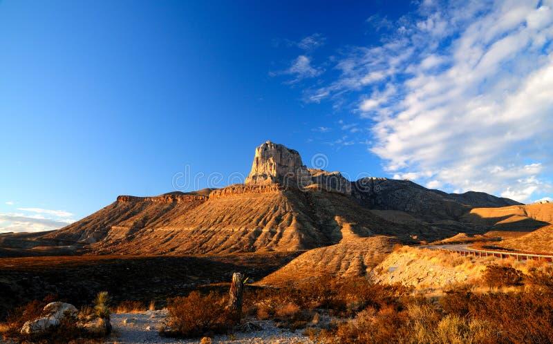 национальный парк гор guadalupe стоковое изображение
