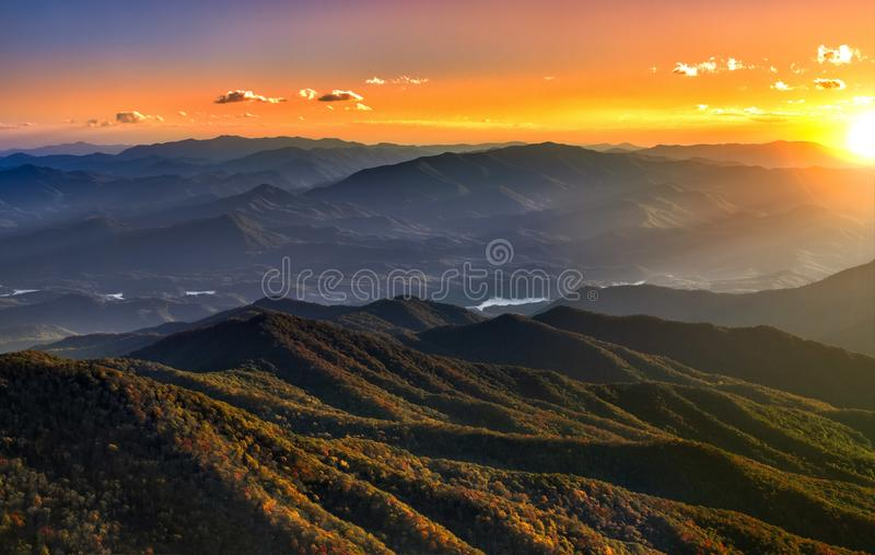 Национальный парк гор Smokey стоковое фото rf