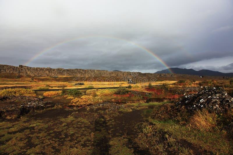национальный парк Исландии стоковая фотография rf