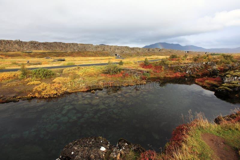 национальный парк Исландии стоковые изображения