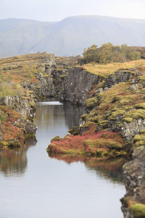национальный парк Исландии стоковая фотография