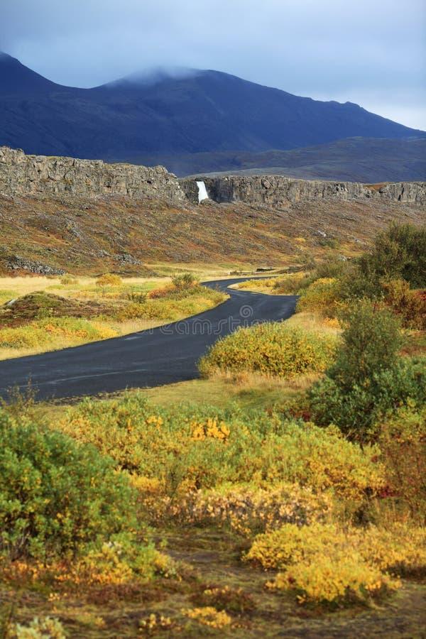 национальный парк Исландии стоковое фото