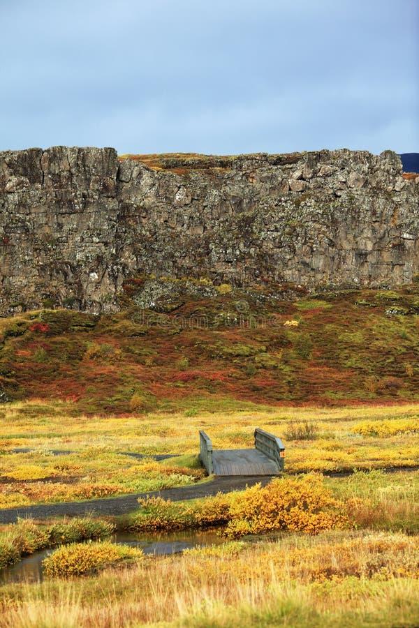 национальный парк Исландии стоковые изображения rf