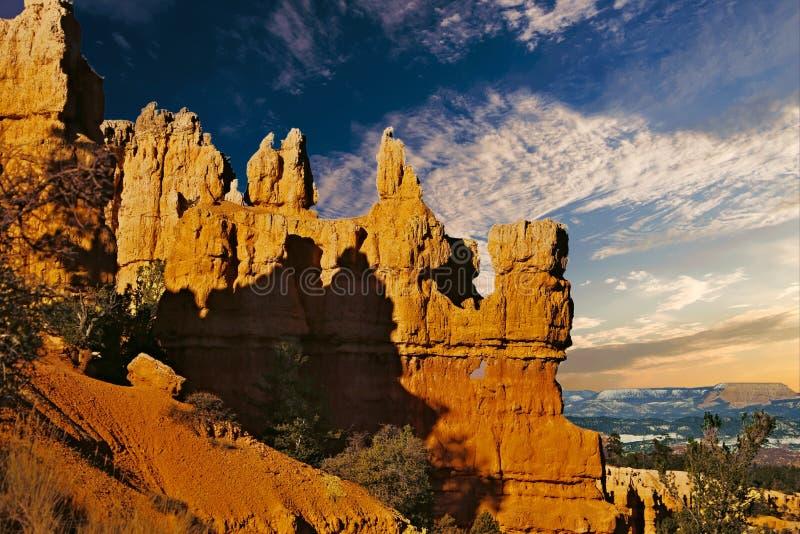 Национальный парк каньона Bryce, один из самых красивых парков в мире стоковое изображение