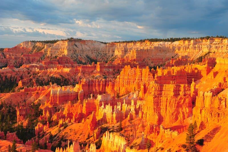 национальный парк каньона bryce стоковая фотография rf