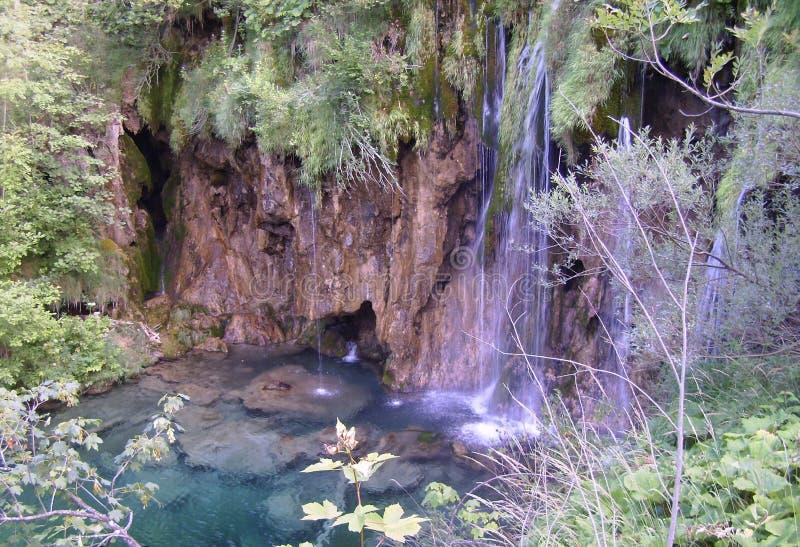 Национальный парк озер Хорвати-Plitvice стоковая фотография rf