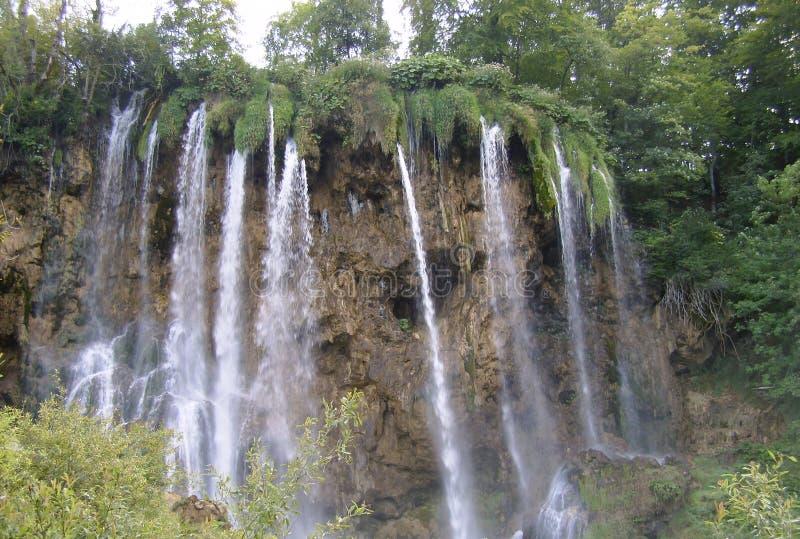 Национальный парк озер Хорвати-Plitvice стоковые фотографии rf