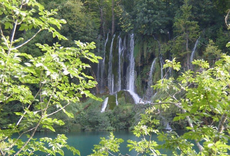 Национальный парк озер Хорвати-Plitvice стоковое изображение
