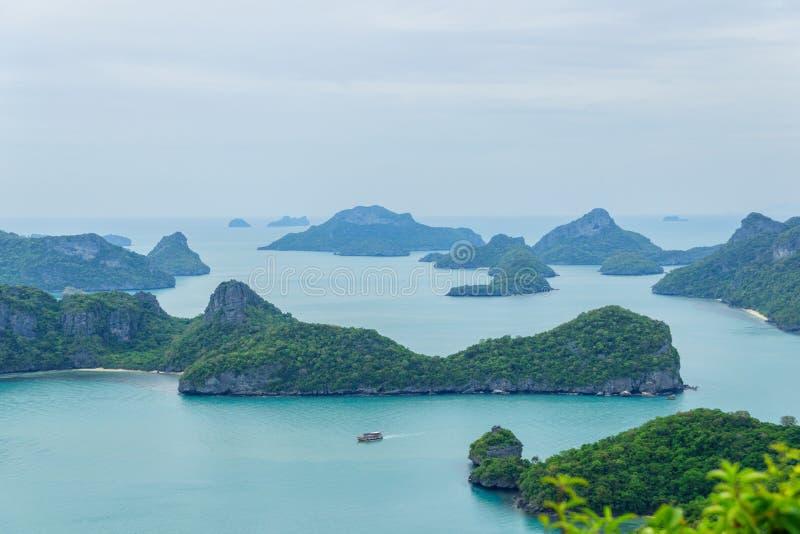 Национальный парк ремня Ang Mu Ko, остров Samui, Таиланд стоковое фото rf