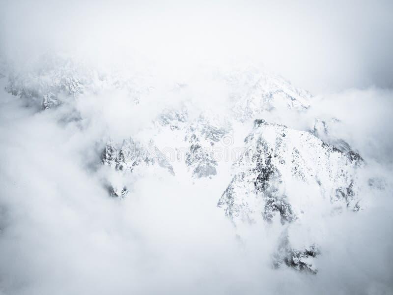 Национальный парк Alaarcha в ненастной погоде стоковое фото