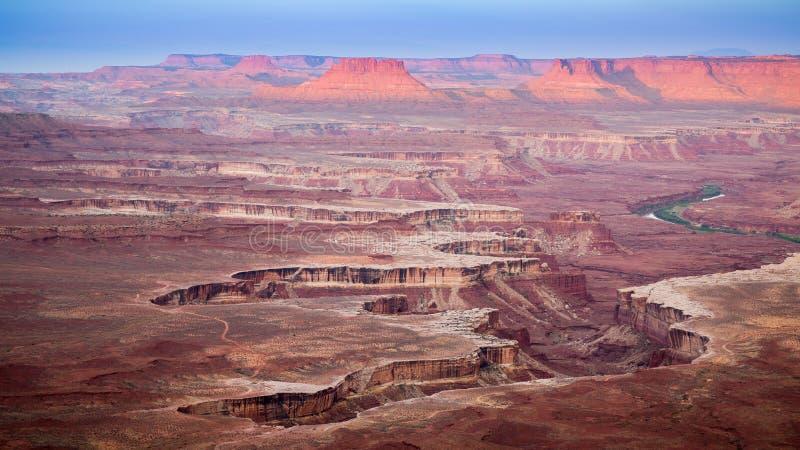Национальный парк Canyonlands стоковые фотографии rf