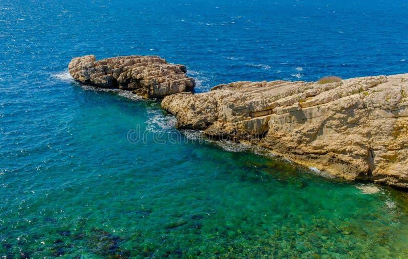Национальный парк Coastline-2 марселей-Calanque стоковая фотография