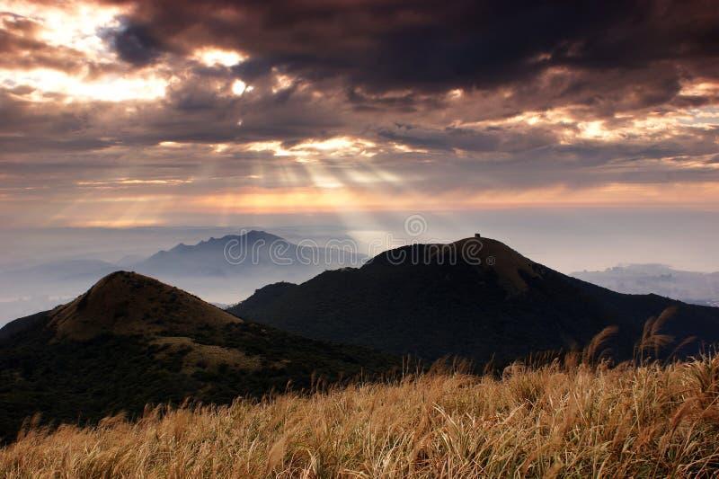 национальный парк jesus светлый yangmingshan стоковое фото