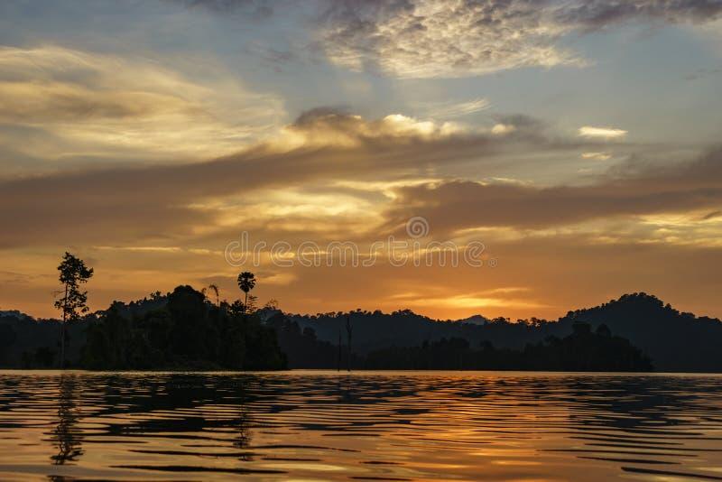 Национальный парк Khao Sok, южный Таиланд стоковая фотография