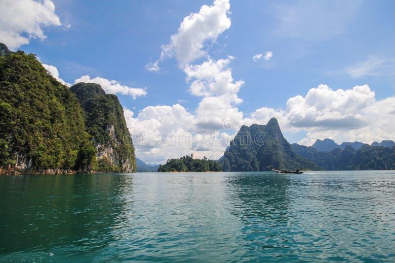 Национальный парк KHAO SOK, Suratthani Таиланд стоковая фотография