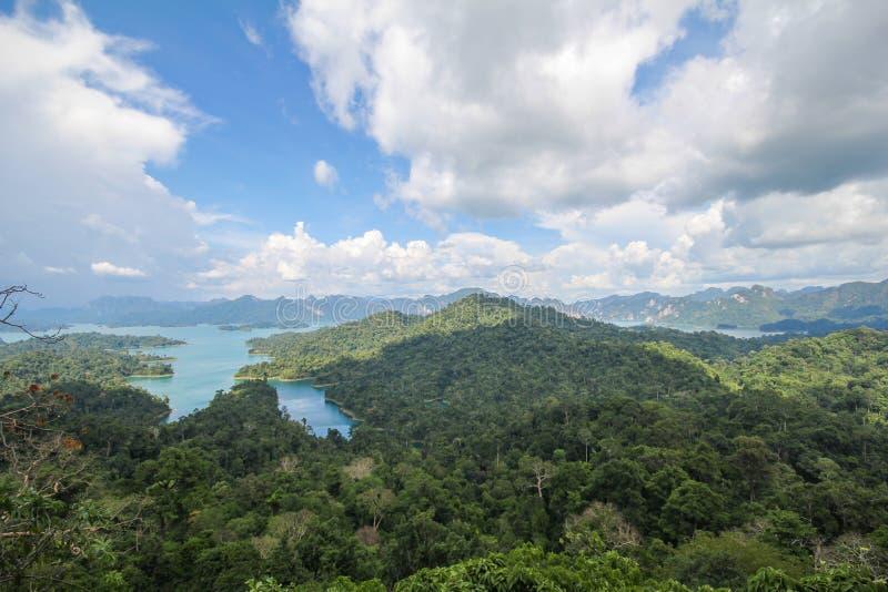 Национальный парк KHAO SOK, Suratthani Таиланд стоковое фото rf