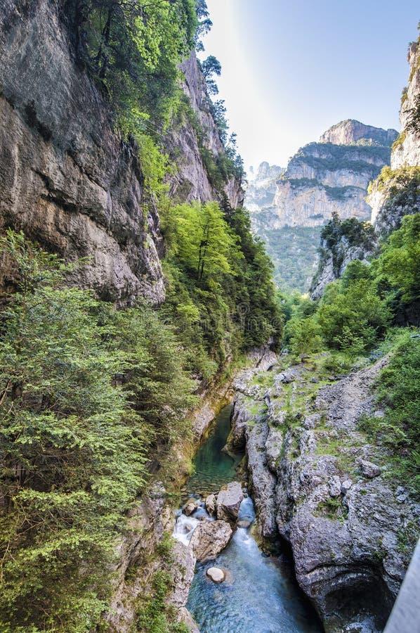 Национальный парк Ordesa y Monte Perdido, Испания стоковые изображения
