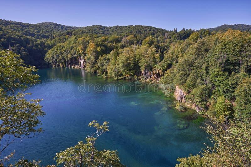 Национальный парк Plitvice озера стоковое изображение