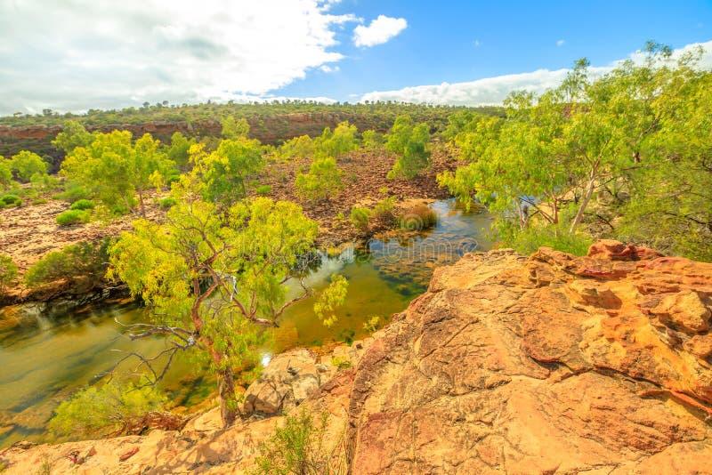 Национальный парк WA Kalbarri стоковая фотография