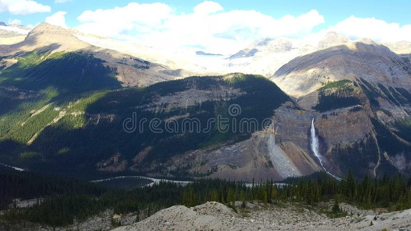 Национальный парк Yoho в Канаде стоковые изображения rf