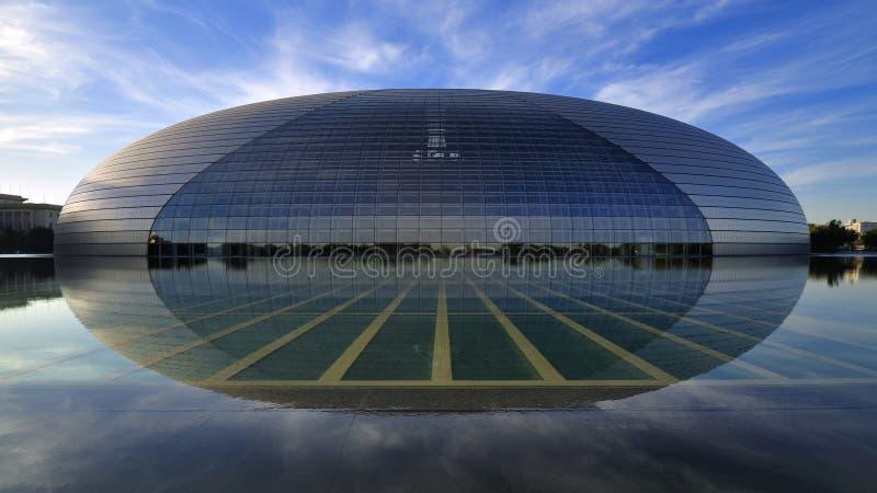 Национальный театр Китая в Пекин стоковые изображения