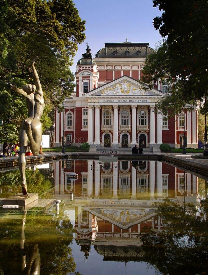 национальный театр стоковое фото rf