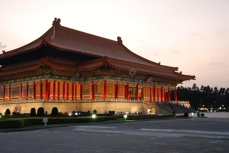 Национальный театр Thhe Тайбэя стоковое изображение rf