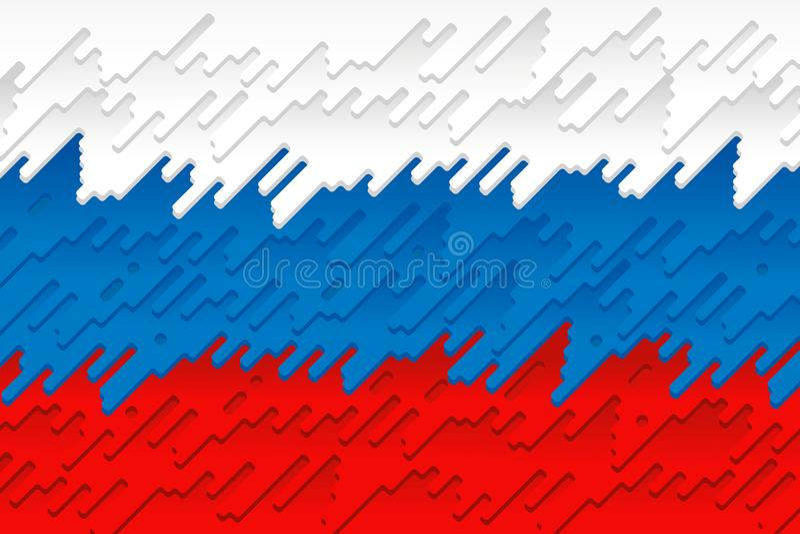 Национальный флаг России бесплатная иллюстрация