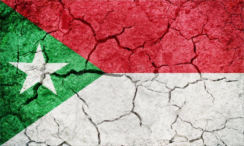 Национальный флаг Trujillo стоковые изображения rf