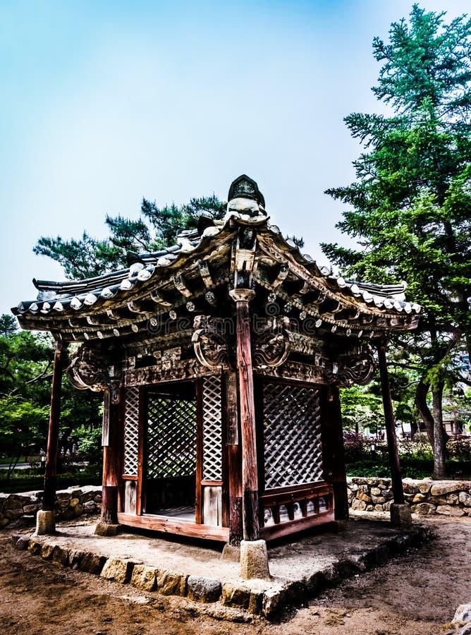 Национальный фольклорный музей Кореи стоковые изображения