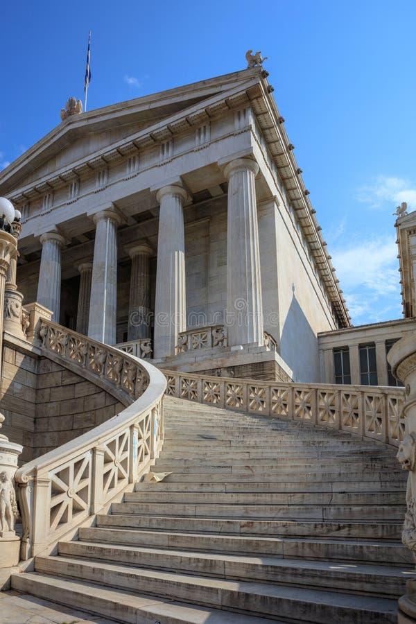 Национальная библиотека Афин, Греции стоковые изображения