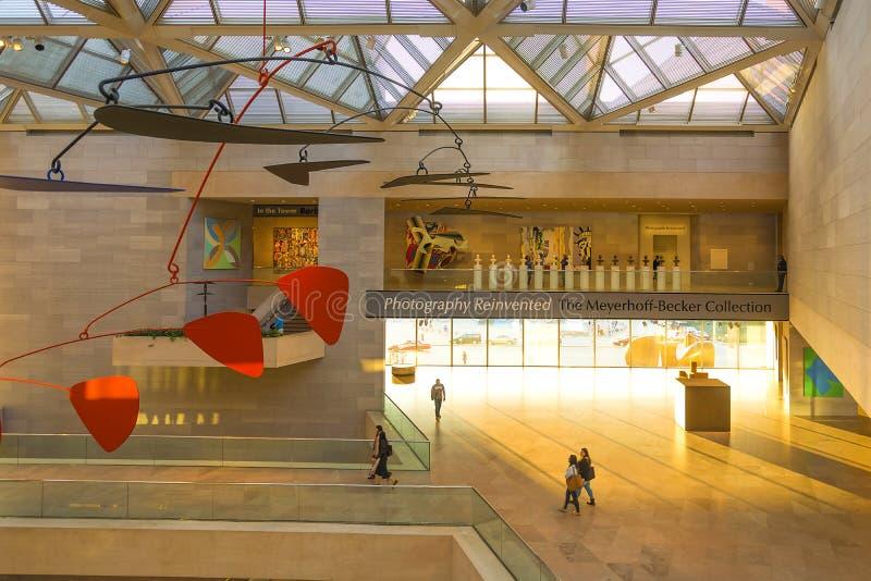 Национальная галерея искусства в Вашингтоне, DC стоковые изображения