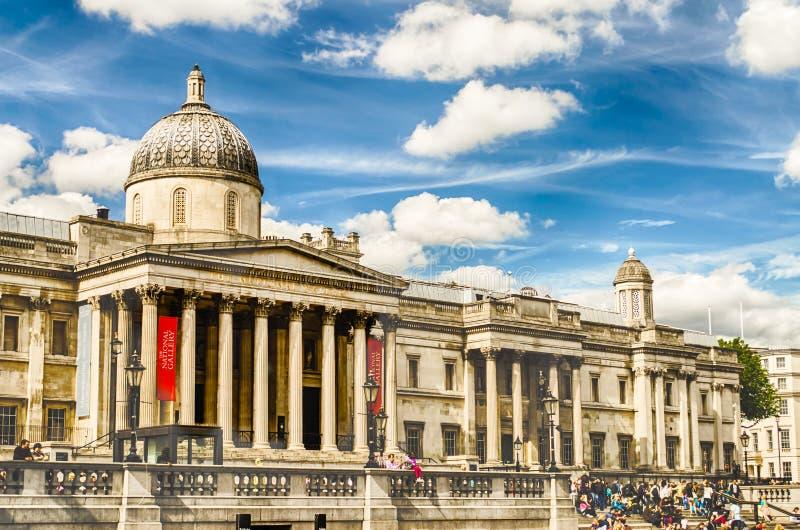 Национальная галерея Лондона стоковые фото